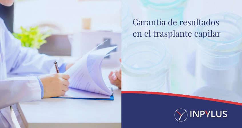 Inpylus - Garantía de resultados en el trasplante capilar