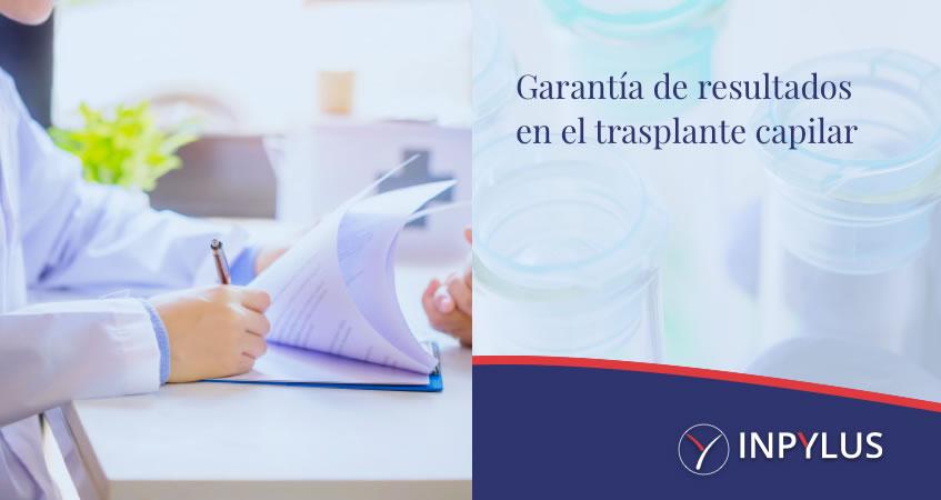 Garantía de resultados en el trasplante capilar