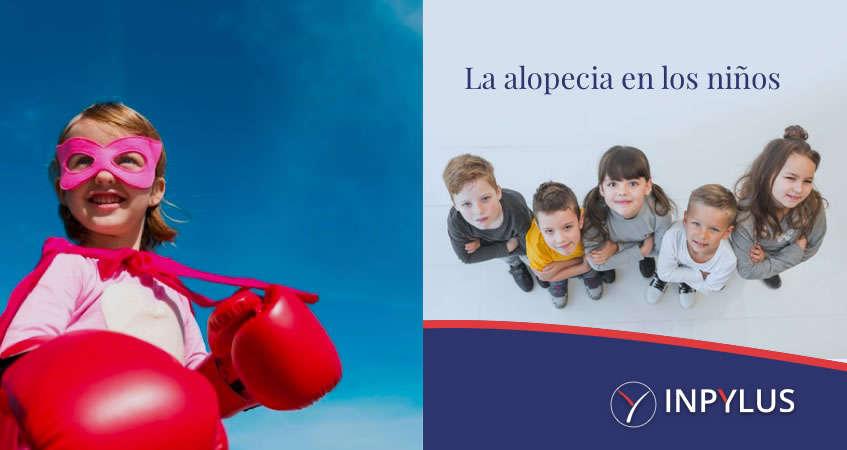 Inpylus - La alopecia en los niños