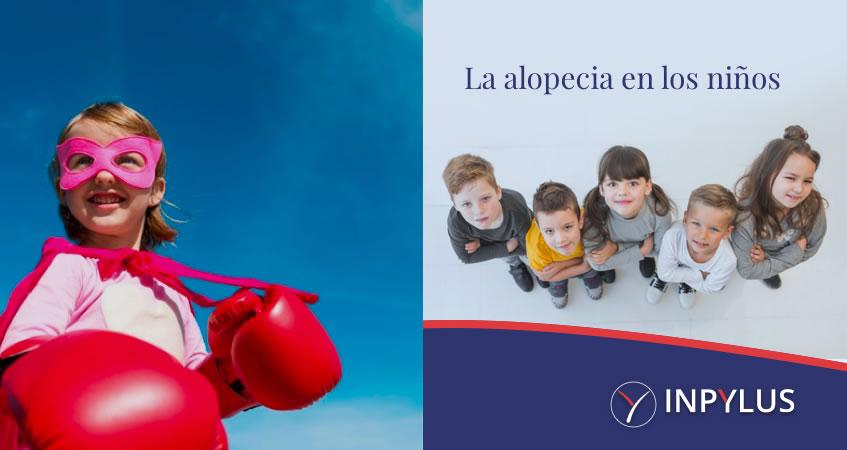 La alopecia en los niños