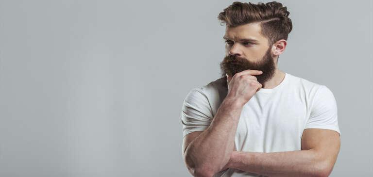 Técnica FUE para barba